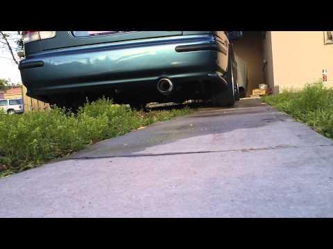 1996 Honda Civic lx D16y7 DC Sports exhaust