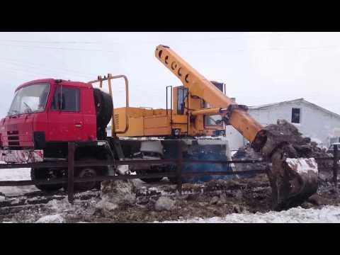 Экскаватор Татра УДС-114 Золотая ручка
