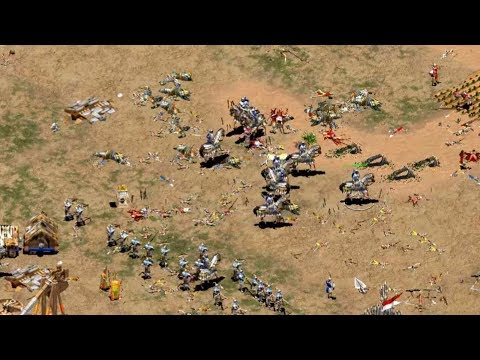 Outstanding AoE2 2v2 - TyRanT vs AfterMath