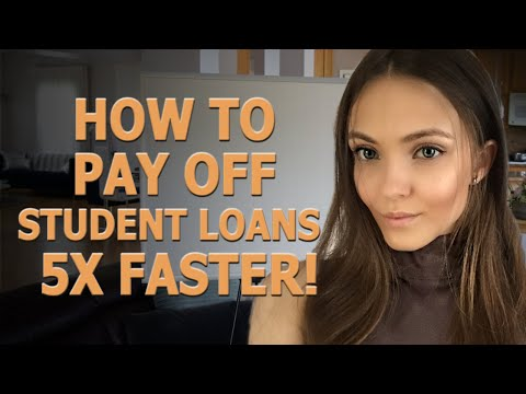 How To Pay Off Student Loans 4-5X Faster!