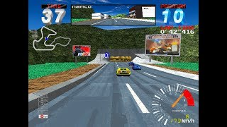 Ridge Racer 2 arcade 60fps