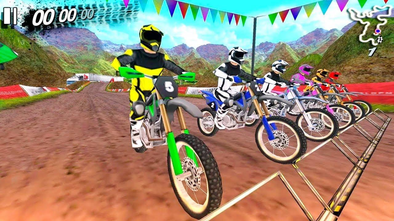 Bike Racing Games Ultimate Motocross 4 Gameplay