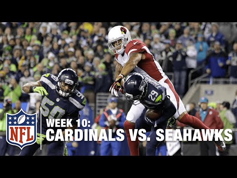 Earl Thomas Picks Off Carson Palmer DENYING a Big TD! | Cardinals vs. Seahawks | NFL
