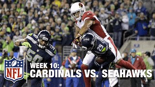 Earl Thomas Picks Off Carson Palmer DENYING a Big TD! | Cardinals vs. Seahawks | NFL