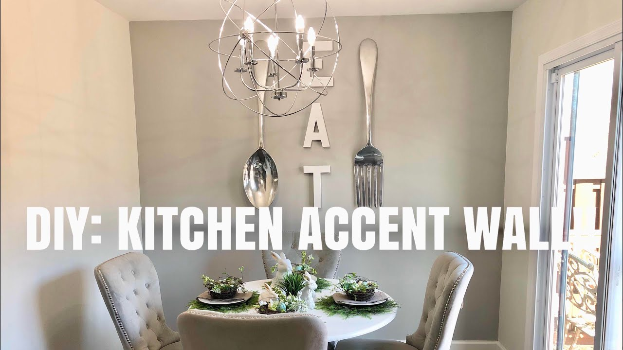 Diy Kitchen Accent Wall Youtube