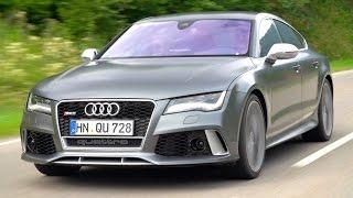 Audi RS 7 2014: Тест-драйв 2014 Audi RS 7: Любитель автобанов!