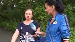 Ливень стал причиной массовой аварии на улице Черемуховой