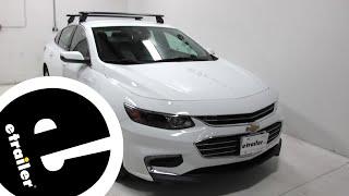 Rhino Rack Roof Rack Review - 2018 Chevrolet Malibu - etrailer.com