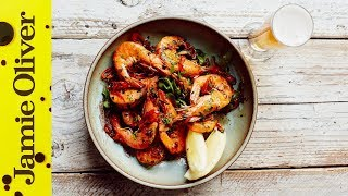Chilli & Garlic Prawns with Beer Matching  John Quilter