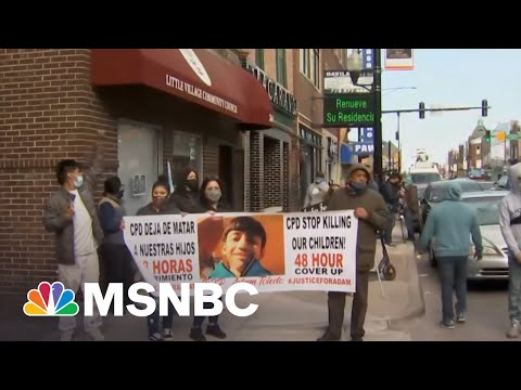 'People Feel Betrayed': Chicagoans React To Fatal Police Shooting Of 7th Grader   All In   MSNBC