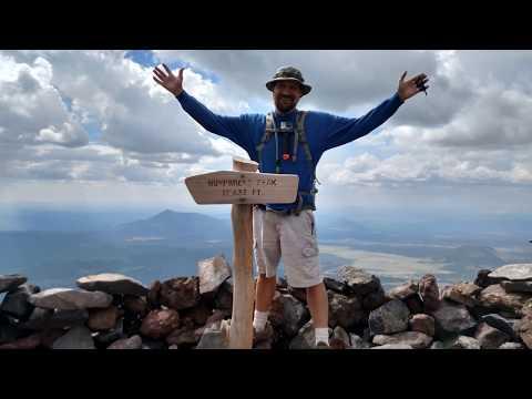 Humphreys peak 2017! What's in my backpack?