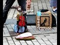 Talеnted street musician from Ireland.- Талантливый уличный музыкант, Ирландия.