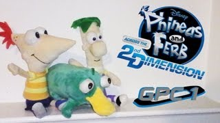 Phineas and Ferb Across the 2nd Dimension Game Part 1 - I KNOW WHAT WE
