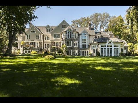 Grand Executive Estate In Villanova, Pennsylvania