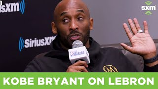 Kobe Bryant Talks LeBron & the Lakers Missing the Playoffs