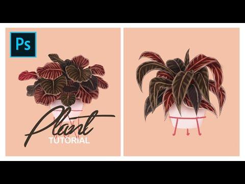 Graphic Design | Adobe Photoshop Tutorial | Leaf Plant thumbnail