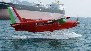 「紅の豚」の飛行艇だ 水陸両用機で遊覧飛行、人気