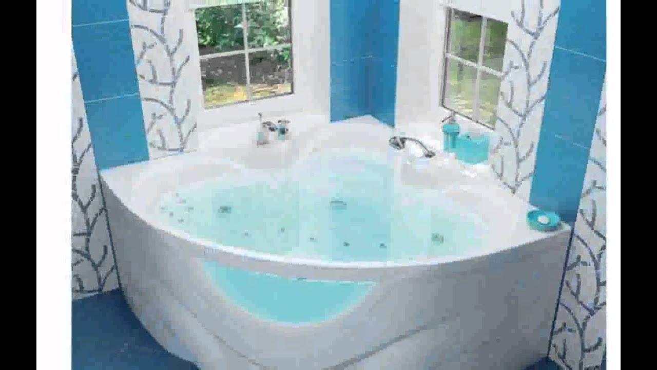 ванна акриловая угловая со стеклом за 215 тыс. рублей - YouTube