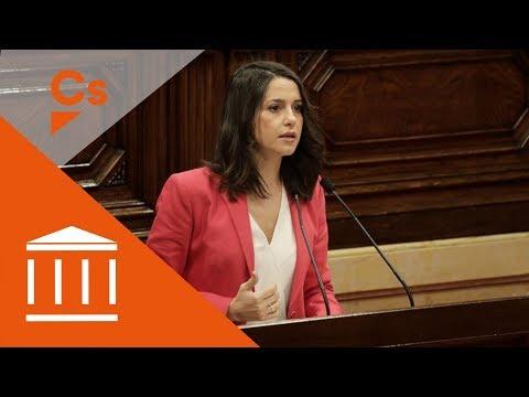 """Inés Arrimadas. Discurso en pleno de """"Debate de Política General"""" thumbnail"""