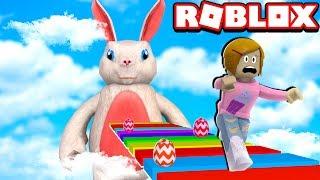 Roblox fuga il coniglietto di Pasqua Obby!
