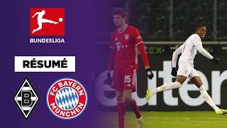 Résumé : Le Bayern renversé par Gladbach