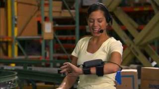 Motorola WT4090 Wearable Computer for data or voice: the best solution for picking and sorting