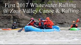 Zoar Valley Canoe & Rafting Co. First 2017 Raft Trip on Cattaraugus Creek
