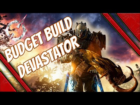 outriders best budget anomaly devastator build - easy to make to clear ct13 ct14 ct15 no tier 3 mods
