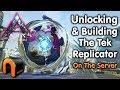 ARK Extinction HOW TO UNLOCK THE TEK REPLICATOR & Build It!