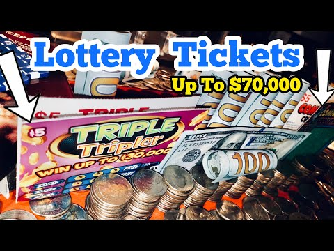 She WON THE LOTTERY Tickets Inside The High Limit Coin Pusher Jackpot WON MONEY ASMR