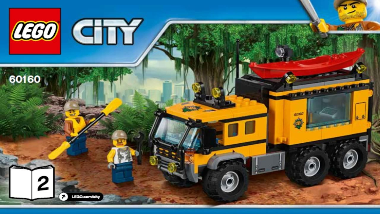 LEGO City Jungle Explorers 2017 JUNGLE MOBILE LAB 60160 #2 ...