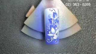 видео Аэрограф для дизайна ногтей