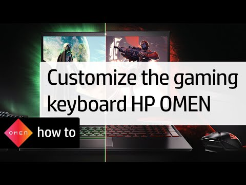 Using the HP OMEN to Customize the Gaming Keyboard | HP Omen 15 Notebook PCs | HP