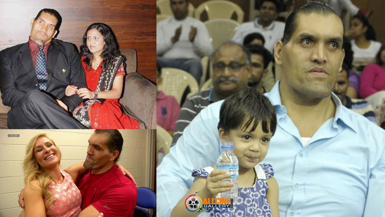Wwe The Great Khali Family Photos With Wife Daughter Rare And Unseen Images Youtube