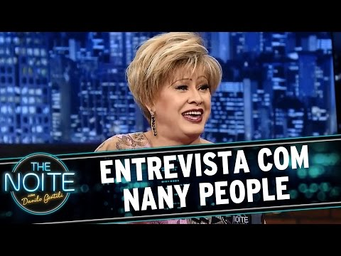 The Noite (01/07/15) - Entrevista Nany...