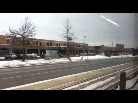 METRO Green Line Light Rail Government Center Station to St. Paul Union Depot 2/8/16 HD