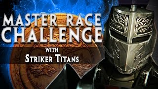 MASTER RACE IRON BANNER CHALLENGE!! (Funny and FUNNEST No Weapon Challenge In Destiny!!)