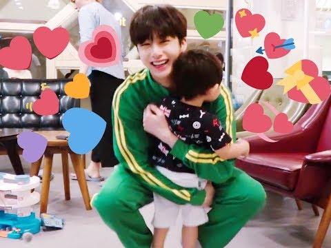 [ENG SUB] Monsta x hyungwon and his baby koala siwoo