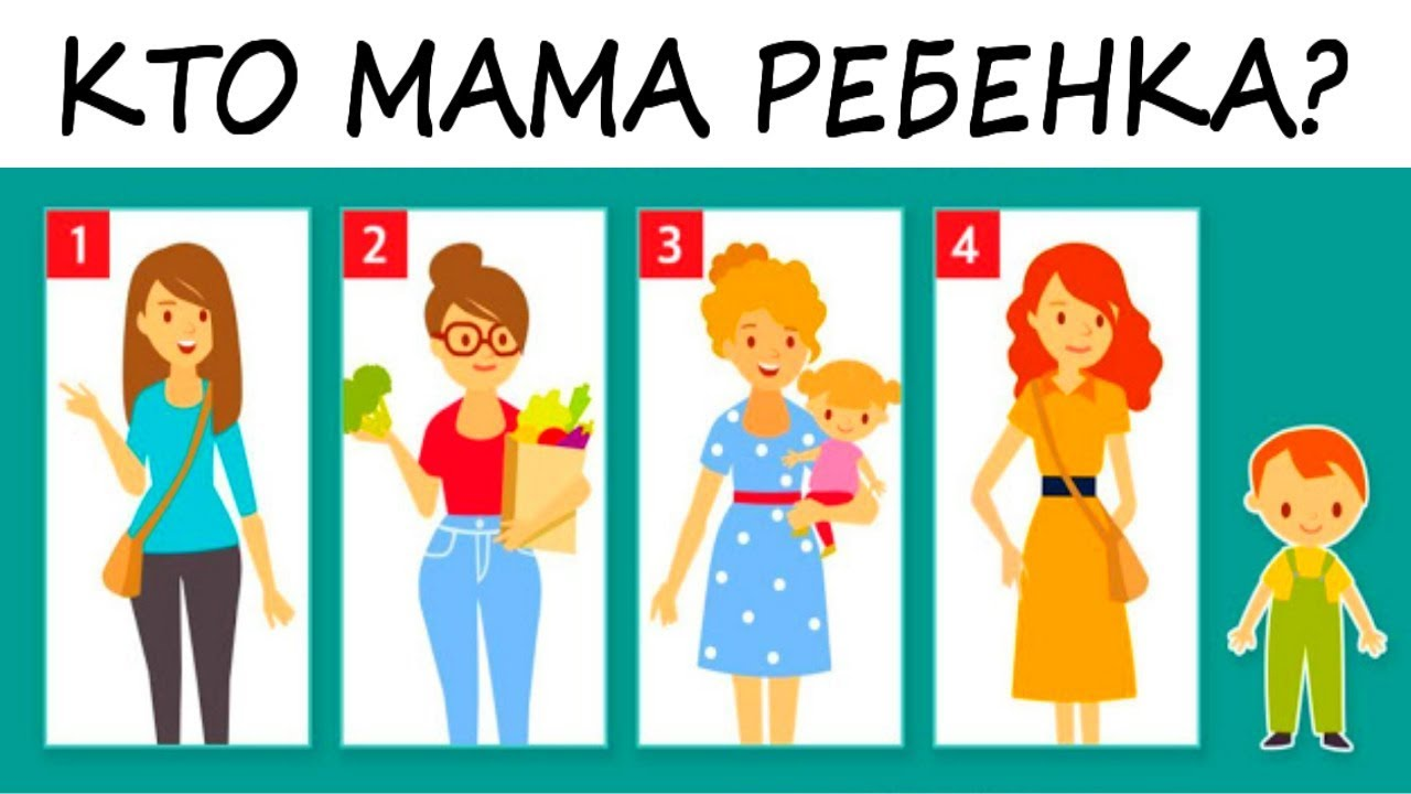 Тест! Кто мама ребенка? Раскрой свои главные черты ...