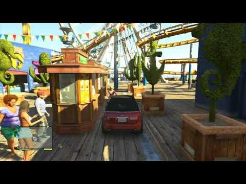 Santa Monica Pier in GTA V