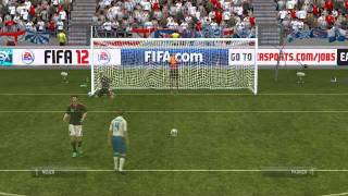 FIFA 12 GamePlay Elmeterschießen