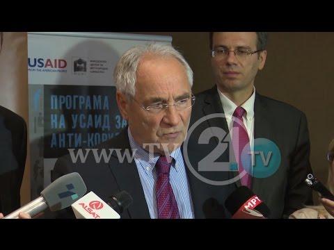 VAJGËLL: S'KAM FOLUR ASGJË KUNDËR GRUEVSKIT, VMRO-DPMNE DO SQARIME NGA EURODEPUTETI SLLOVEN