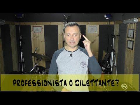 Ti sei mai chiesto cosa distingue un musicista professionista da un dilettante?