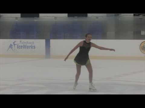 Mackenzie Manofsky  Compete USA Palm Beach Ice Works 2017