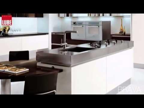 Cucina Lube mod. BRAVA da Rosa Mobili Scordia CT - YouTube