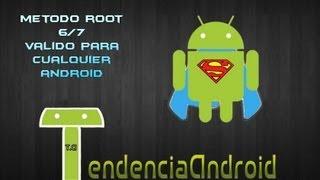 Como ser Root en cualquier Terminal Android - Método 6/7 (valido para cualquier android)