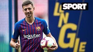 Baixar ASÍ HA SIDO LA PRESENTACIÓN DE CLÉMENT LENGLET COMO JUGADOR DEL FC BARCELONA