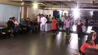 Base Information Management Pvt. Ltd. Party 2015 Dance Performance ( saree ke fall sa )