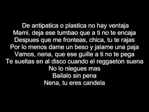 Chica Plastica - Johnny Prez feat. Yaga & Mackie- Pedro Prez - LETRA