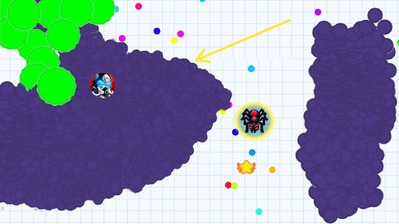 EPIC REVENGE! (Agar.io Mobile Gameplay!)